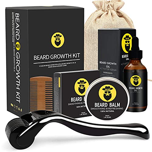 Beard Growth Kit - Derma Roller for…