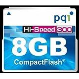 PQI JAPAN PQIブリスターパッケージ 300倍速コンパクトフラッシュカード 8GB 永久保証 BCF30-8G