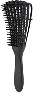 CattleBie Octopus Modeling Comb Fasun Hair Is Breathable Rib Comb Air Fluffy Essential Oil Head Massage Comb (Color : Black)