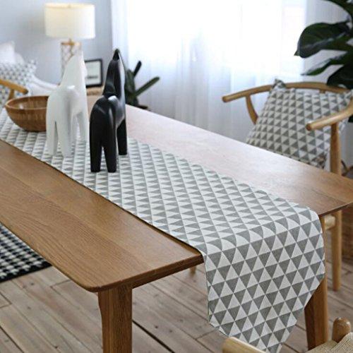 BiuTeFang Chemin de Table Double Deck, drapeau de table, lit de style européen, drapeau, classique, nappe 30*220cm
