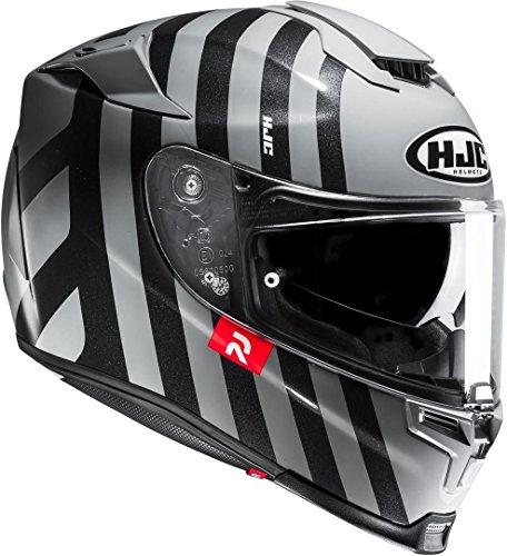 HJC Motorradhelm RPHA 70 Forvic MC5, Schwarz/Weiß, Größe S