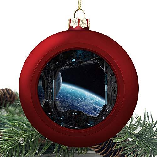 aosup Spaceship Grunge Interior/Christmas Ball Ornaments 2020 Christmas Pendant Personalized Creative Christmas Decorative Hanging Ornaments Christmas Tree Ornament №W0200782