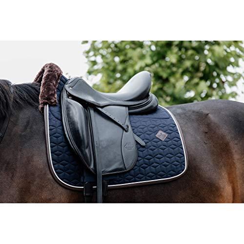 Kentucky Horsewear Tapis de selle Skin Friendly - Motif étoiles - Taille : DR - Couleur : bleu