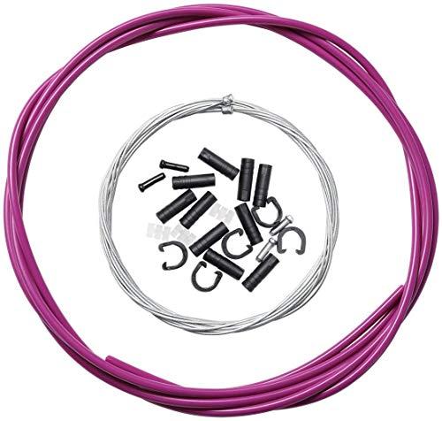 Dymoece Kit de câble de dérailleur pour dérailleur de vélo Shimano Sram MTB Vélo de route