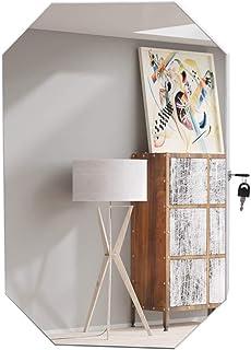 Kcelarec Jewelry Cabinet Armoire with Mirror, Wall-Mounted Space Saving Jewelry Storage Organizer