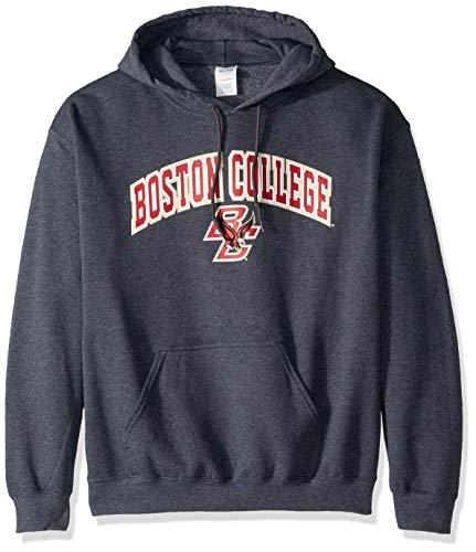 Elite Fan Shop NCAA Herren Kapuzenpullover Boston College Eagles Dark Heather Arch Boston College Eagles Dark Heather Large