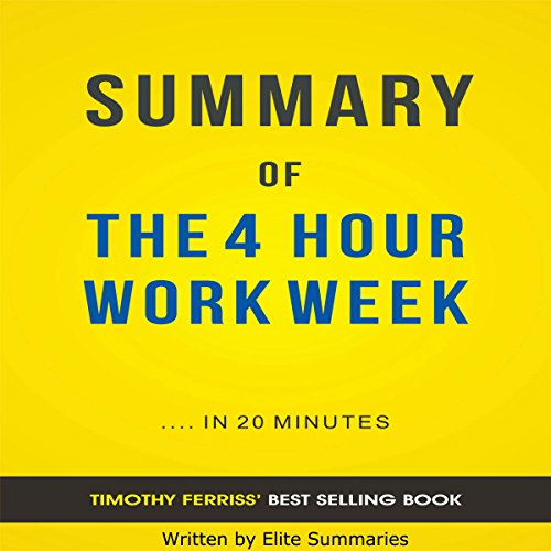 The 4 Hour Work Week, by Timothy Ferriss cover art