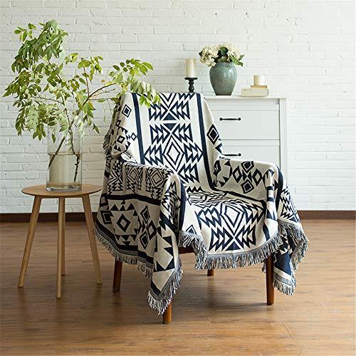 QXbecky Sofa Blanket Retro European Style Blanket Sofa Towel Non-Slip Fabric Sofa Cushion Sofa All-Inclusive Blanket