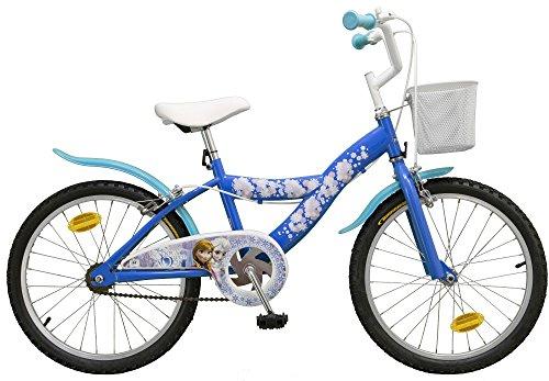 Bicicletta per bambini Disney Frozen–Il regno di ghiaccio–20pollici con CESTINO