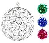 Hoont Outdoor Hanging Decorative Sparkling Crystals Gazing...