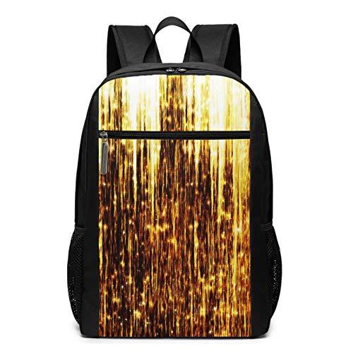 Schulrucksack Sternschnuppen, Schultaschen Teenager Rucksack Schultasche Schulrucksäcke Backpack für Damen Herren Junge Mädchen 15,6 Zoll Notebook