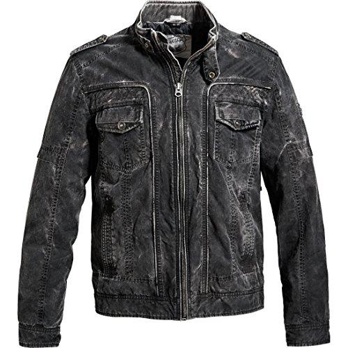 Spirit Motors jas tussenjas zomerjas jas casual jasje in vintage look 4.0, mannen, casuale/modieus, het hele jaar door, textiel