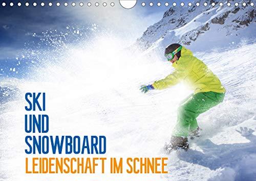Ski und Snowboard - Leidenschaft im Schnee (Wandkalender 2021 DIN A4 quer)