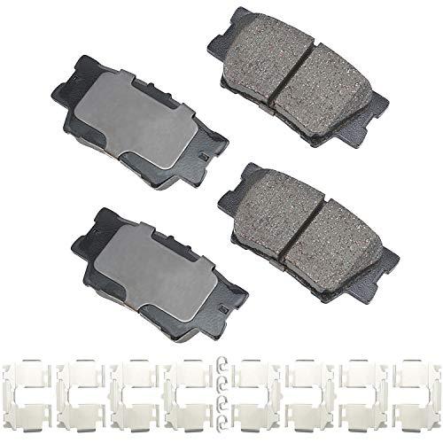 Akebono-ACT1212A Ultra-Premium Ceramic Rear Disc Brake Pads