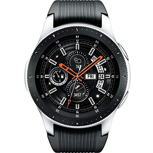 Samsung Galaxy Watch (46mm) Silver (Bluetooth), SM-R800 - International Version -No Warranty