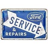 Nostalgic-Art Retro Blechschild Ford – Service & Repairs