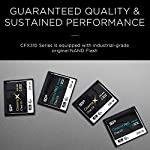 Silicon Power 128GB CFast2.0 CinemaPro CFX310 Memory Card, 3500X and up to 530MB/s Read, MLC, for Blackmagic URSA Mini… 9 EXCELLENT PERFORMANCE FOR 4K UHD CINEMATIC CAMERAS AND PROFESSIONAL CAMCORDERS- Designed for professional photographers and videographers, the CFX310 features superior performance that enables uninterrupted and cinema-quality 4K video recording. BLACKMAGIC APPROVED- Blackmagic approved and 2160p ProRes 422 HQ 60fps certified. The CFX310 delivers ultra-fast speed of up to 530 MB/s read that lets you quickly transfer large files from the card to your computer. MULTIPLE TECHNIQUES SUPPORTED - Supports Power Shield/ Global Wear-Leveling/ Advanced Garbage Collection/ TRIM /DEVSLP