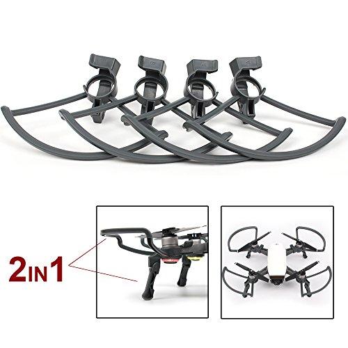 Flycoo 2 en 1 Kits para dji Spark Protectores de Hélices y