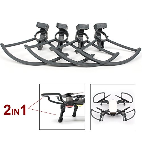 Flycoo 2 in 1 Protection d'hélice pour DJI...