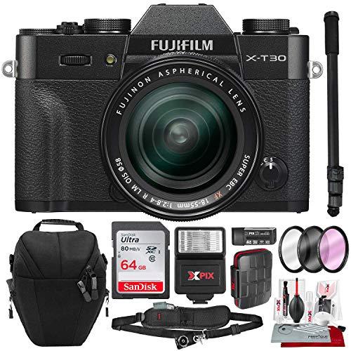 Fujifilm X-T30 4K Wi-Fi Mirrorless Digital Camera