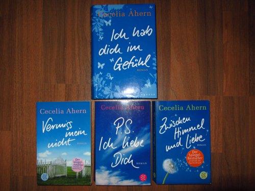 Paket Cecelia Ahern: Zwischen Himmel und Liebe. Vermiss mein nicht. P.S. Ich liebe Dich. Ich hab dich im Gefühl.