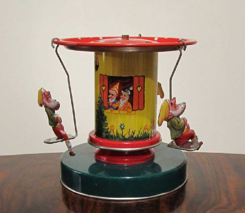 Nostalgie Blechspielzeug Karussell Schneewittchen Snow White