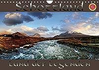 Schottland - Land der Legenden (Wandkalender 2022 DIN A4 quer): Schottland, mystisch, einsam, ein Land voller Legenden fotografiert im Panoramaformat (Monatskalender, 14 Seiten )