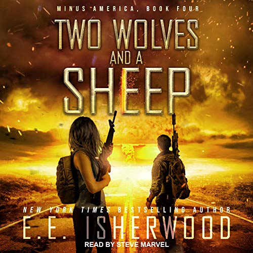 Two Wolves and a Sheep cover art