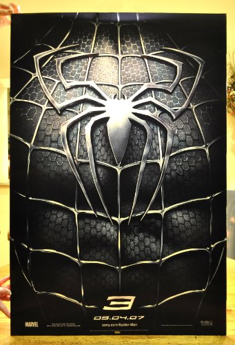 SPIDERMAN 3 LENTICULAR CineMasterpieces 1SH HOLOGRAM ORIGINAL MOVIE POSTER