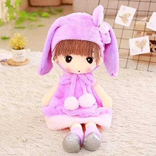 YZHCMKA-N Sombrero Faye Soft Girl Plush Toy Boy Snow Meng Princess Cloth Doll Child Sleeping Doll-90Cm_01