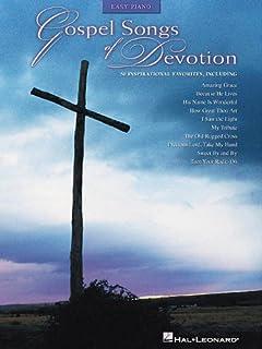 Gospel Songs of Devotion: Easy Piano (Easy Piano (Hal Leonar