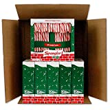 Spangler Red and White Peppermint Candy Canes 6-18 Count Boxes