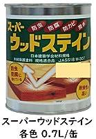 スーパーウッドステイン (ピニー 0.7L/缶) 木材保護塗料 吉田製油所 キシラデコール同等品