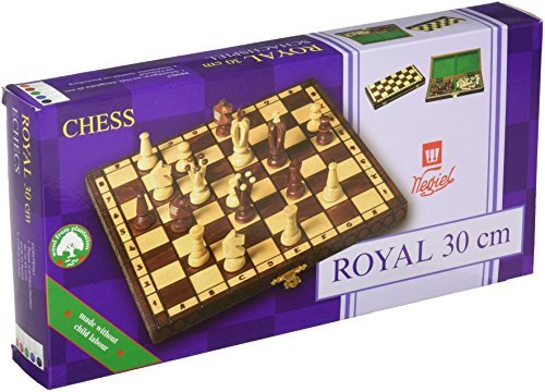 Chess Royal 30 European Wooden Handmade International Set