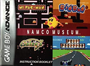 Namco Museum GBA Instruction Booklet (Game Boy Advance Manual Only)