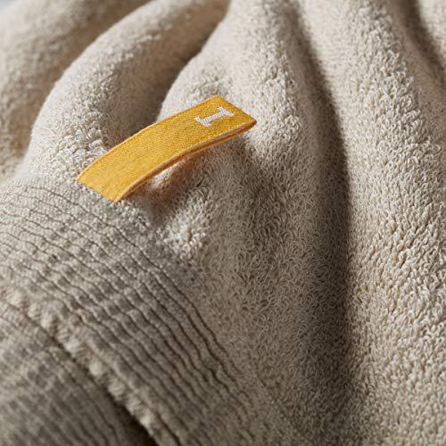 IKEUCHI ORGANIC オーガニック960 オーガニックコットン 日本製 今治タオル 大判 バスタオル ベージュ 1枚