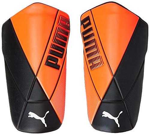 Puma ftblNXT Ultimate Flex, Parastinchi Calcio Unisex-Adult, Shocking Orange Black White, S