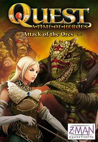 Quest  Attack of the Orcs Board Game by Quest