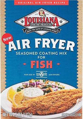Louisiana Fish Fry, Air Fry Fish Coating Mix, 5 oz (Pack of 6)