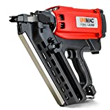 Unimac Pro-Series 34 Degree Cordless Gas Framing Nailer with Case and Battery