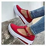 XYY Sandalias de cuña para Mujer, Sandalias, Sandalias de cuña, tacón de cuña, Zapato de Verano, cómodo, Plano (Color : C, Size : 43)