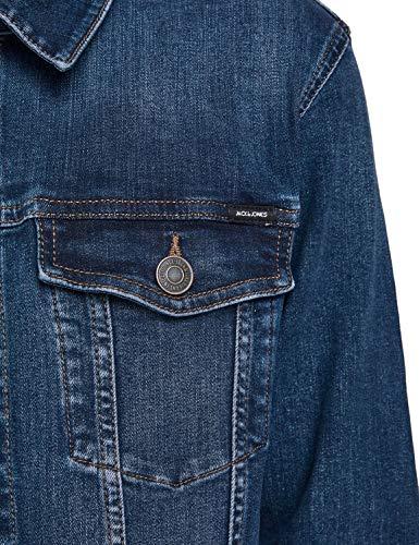 Jack & Jones Jjialvin Jjjacket Agi 001 Noos Chaqueta Vaquera, Mezclilla Azul, L para Hombre