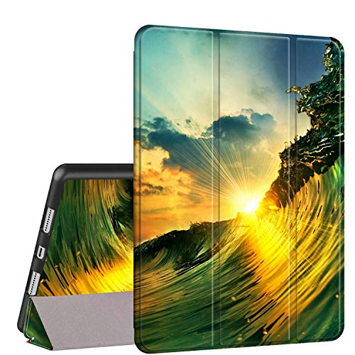 iPad Air 10.5 (3rd Gen) 2019/Pro 10.5 2017 Case, Rossy PU Leather Shock Trifold Stand Folio Smart Cover with Auto Wake/Sleep & Pencil Holder for Apple iPad Air 3rd Gen,Beautiful Sunset