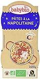 Babybio Bols Pâtes à la Napolitaine 2x200 g - Lot de 6