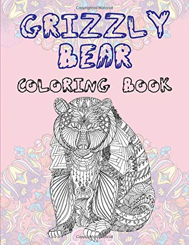Grizzly bear - Coloring Book