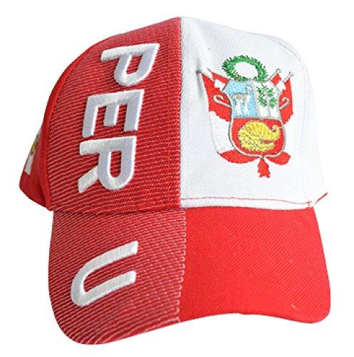 Kappe Motiv Peru Fahne, Nation - Cap mit peruanischer Fahne