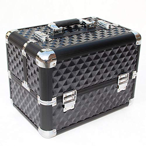 DKFS Women'S Makeup Manager Box kwaliteit meerlagige make-up case mooie make-up tas koffer make-up opbergdoos Manicure Toolbox
