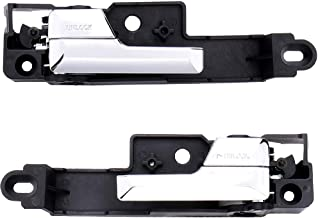 IRONTEK 1 Pair Driver & Passenger Side Interior Door Handle for 2006-2012 Ford Fusion 2007-2012 Lincoln MKZ 2006 Lincoln Zephyr 2006-2011 Mercury Milan Replaces 6E5Z5422601A 6E5Z5422600AA