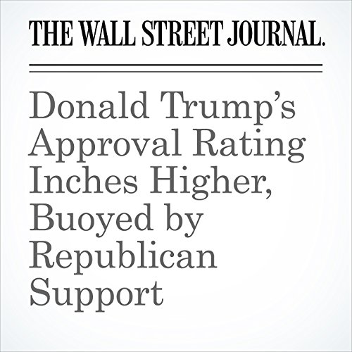 Donald Trump's Approval Rating Inches Higher, Buoyed by Republican Support copertina