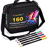 Best Watercolor Pencils - 160 Watercolor Pencils Set with Tools,Soft Core Professional Review